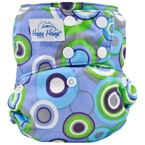 Happy Heiny's Pocket Diaper Groovy Cirles