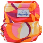 Happy Heiny's Pocket Diaper Retro Swirls