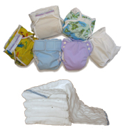 Cloth Diaper Plus Package Deal